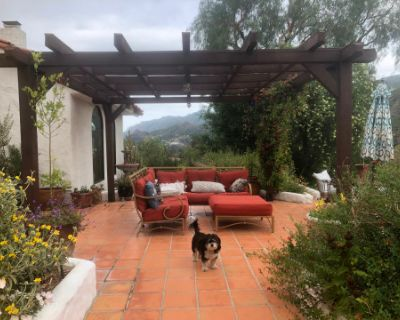 Artistic Mountain Refuge with Lush Gardens and Expansive Outdoor Living Spaces, Agoura, CA