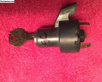 1961 to 1966 SC beetle ignition switch bug german