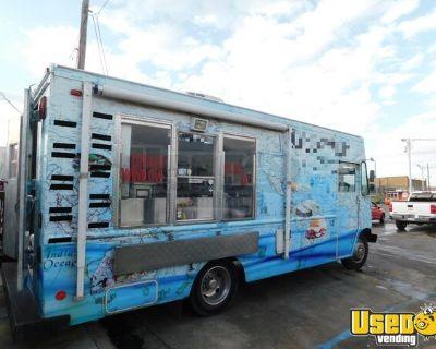 Used Chevrolet Food Truck 24' Step Van Kitchen Food Truck