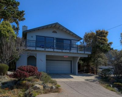 Cambria Pet Friendly Vacation Rental Ocean View Marine Terrace - Lodge Hill