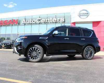 2021 Nissan Armada Platinum 4WD - Captains Chairs Package
