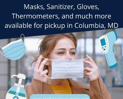Gigantic PPE Overstock Auction