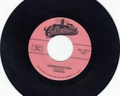 TURBANS ~ Congratulations*Mint-45 !
