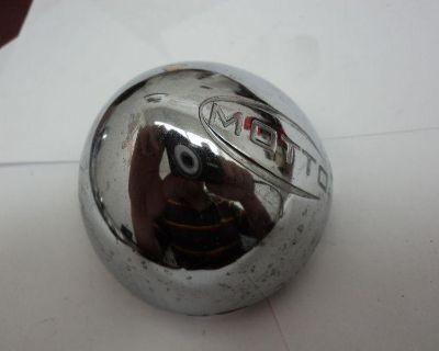 (1) Motto Mt11100000 614-3072 F012-04 Used Chrome Wheel Rim Hub Cover Center Cap