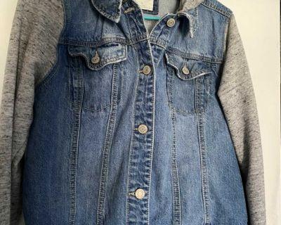 Juniors MUDD XS Hooded Jean jacket