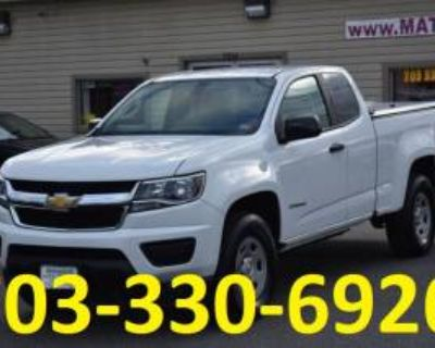2017 Chevrolet Colorado Work Truck Extended Cab Standard Box 2WD Manual