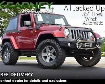 2012 Jeep Wrangler Oscar Mike 4WD