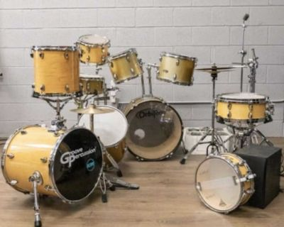 $400 Everything in Photo! - Drum Set