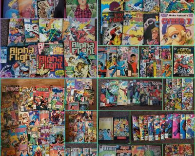 huge comic book collection lot
