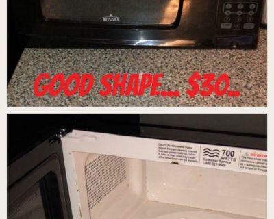 Microwave stove refrigerator