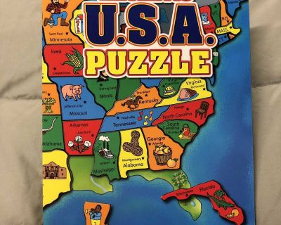 USA Magnetic Puzzle