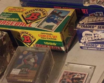 Baseball Card Collection (sets and individual cards)