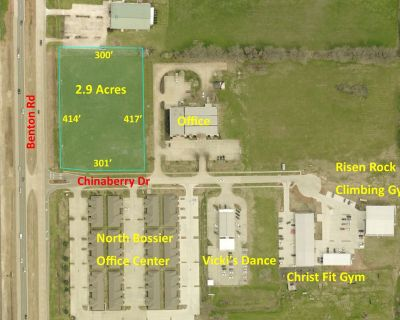 2.9 Acres For Sale in North Bossier