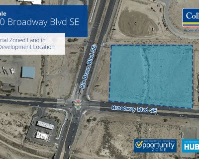 Industrial Zoned Land for Sale