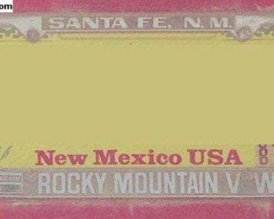 [WTB] New Mexico license plate frames