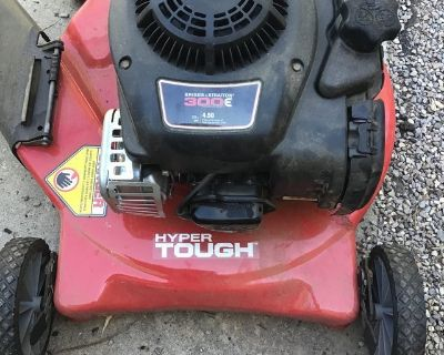Small gas lawn mower