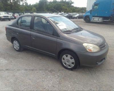 Salvage Gray 2003 Toyota Echo