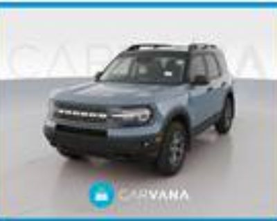 2021 Ford Bronco Blue, 874 miles