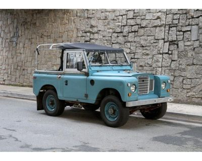 1973 Land Rover Series I