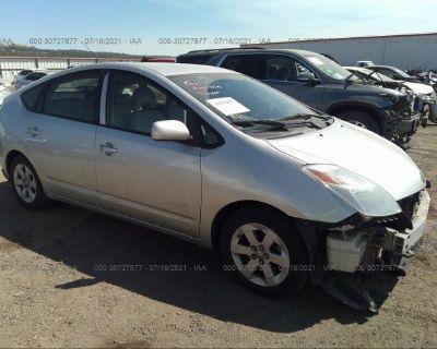 Salvage Silver 2004 Toyota Prius