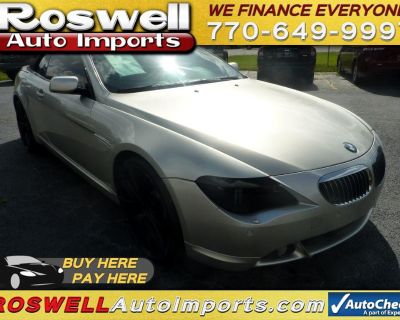 2006 BMW 6-Series 650i Convertible