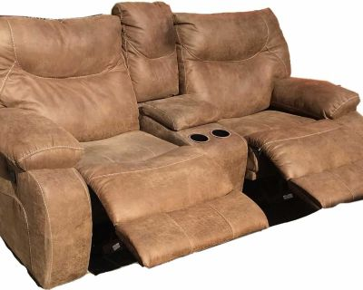 Double Recliner Loveseat with center console