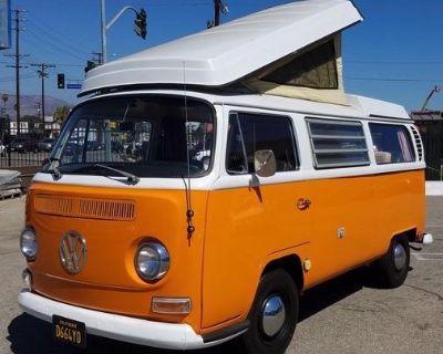 Restored Classic 1968 T2a VW Camper
