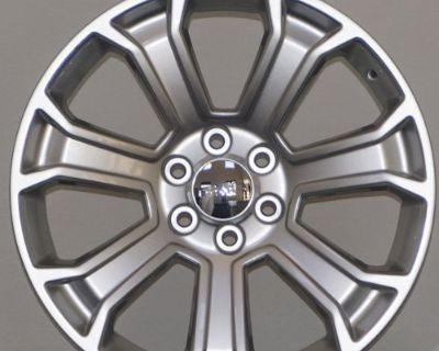 "22"" Chevy Gmc Rims Tahoe Suburban Yukon Sierra Silverado Denali Ck190 Wheels"