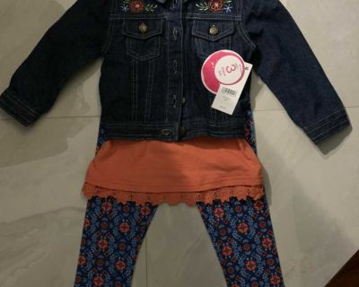 BNWT- 3 piece outfit 24 month