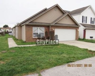 608 Fisher Creek Dr, Indianapolis, IN 46239 3 Bedroom House