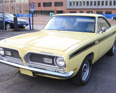 1969 Plymouth Barracuda Notchback Coupe