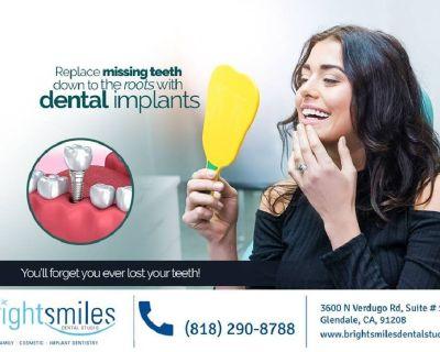 Certified Dental Implants Glendale CA - Dr. Carlos Garcia