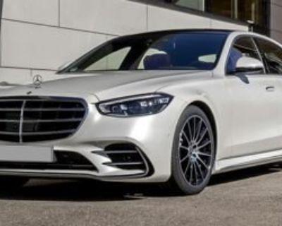 New 2022 Mercedes-Benz S-Class S 500 AWD 4MATIC