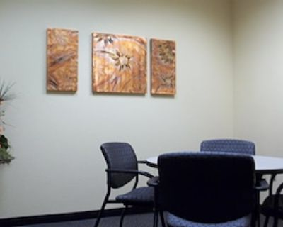 Private Meeting Room for 4 at Office Alternatives (Journal Center location)