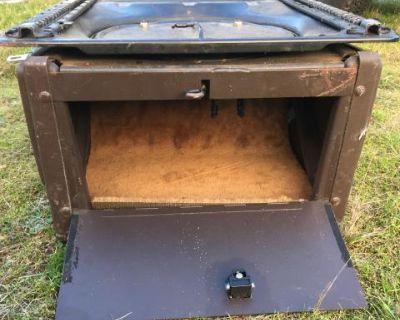 Vw Vanagon middle seat,swivel base & lock box