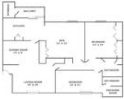 Woodlake Villas - 2 Bedroom W Den