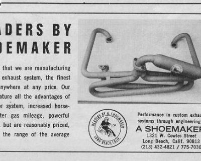 """[WTB] Wanted Shoemaker """"Pretzel"""" buggy header"""