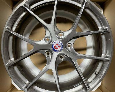 "HRE Forged Wheels P101 5 lug dark brushed clear finish 20""x9"" ET 47 & 20""x12"" ET 45"