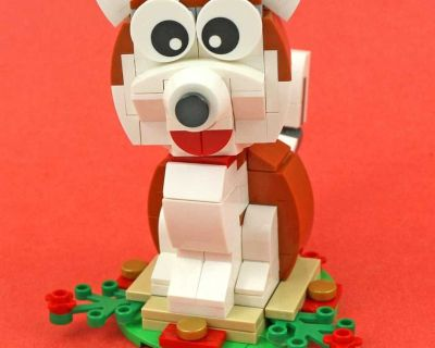 Lego Year of the Dog Sold As Is