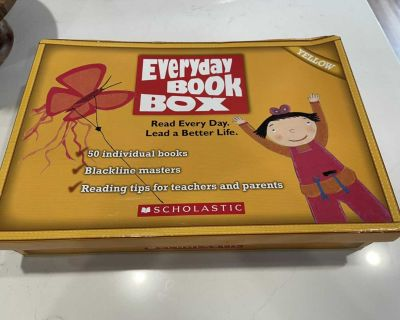 Everyday book box for k-1