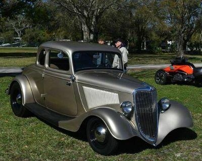 1934 Ford 5 Window 2-door 5-Window All-Steel Coupe Restored V8-8