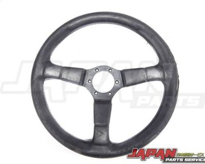 Unknown Aftermarket Old Style Steering Wheel Made In Italy
