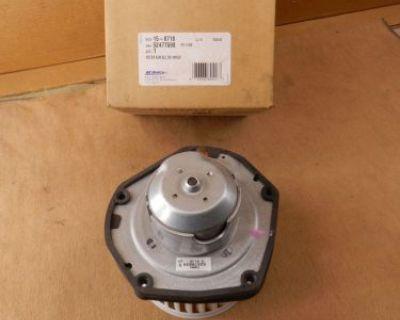 Gm 52477598 Acdelco 15-8718 Hvac Heater Blower Motor