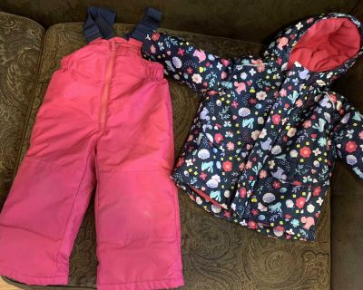 snow pants and jacket