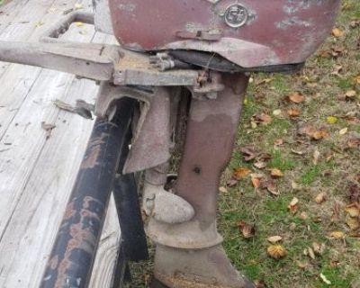 1950's Johnson 5.5 hp motor