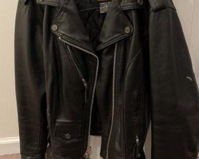 FS Harley Davidson Unisex XL Leather Jacket