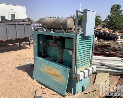 Onan 20DGAB 25 kVA Skid-Mounted Gen Set