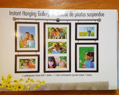 NEW Old Town Instant Wall Hanging Gallery - NEUF Galerie de Photos Suspendue