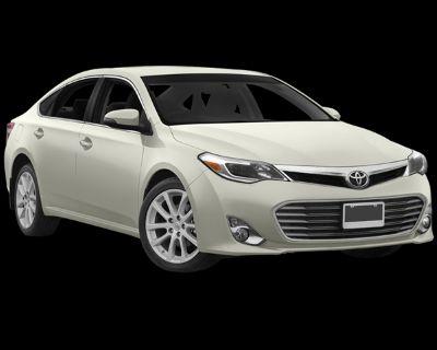 Pre-Owned 2013 Toyota Avalon XLE Premium FWD 4D Sedan