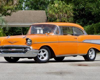 1957 Chevrolet Bel Air 2-door coupe 2-door hardtop All-Steel Original Restored Second Generation Small Block V8 Tri-Five Engine Swap
